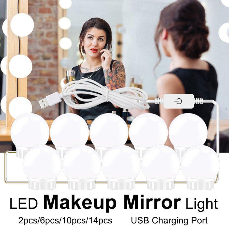 Lampe LED pour miroir de Maquillage - Stars d'Hollywood  | OkO-OkO