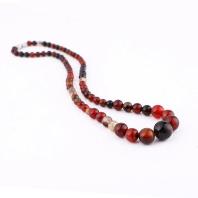 Collier Pierre Naturelle Femme Agate Indienne 2 | oko-oko