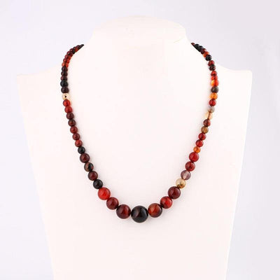Collier Pierre Naturelle Femme Agate Indienne | oko-oko
