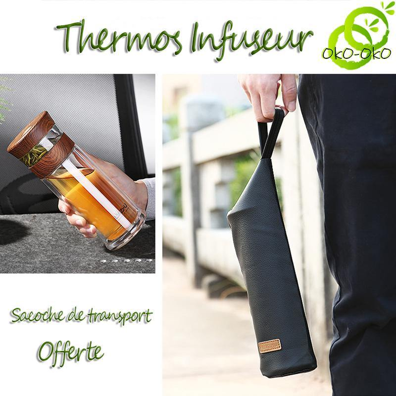 Thermos <br> Avec infuseur.
