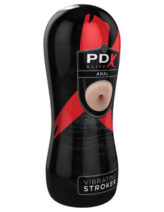 PDX Elite Vibrating Anal Stroker