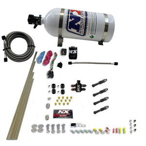 Dry Direct Port Nitrous System, 4 Cylinder