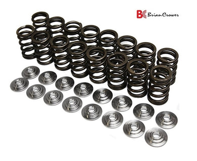 BRIAN CROWER DUAL VALVE SPRINGS AND STEEL RETAINERS H-Series