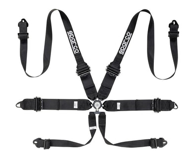 Sparco 6-Point 3/2in Competition Harness
