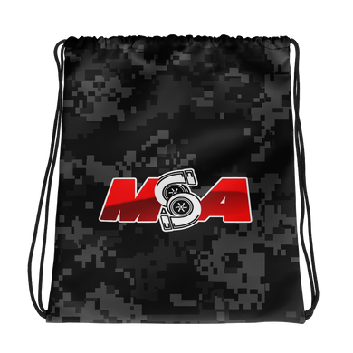 MSA Camo Drawstring Bag