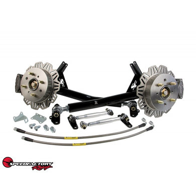 SpeedFactory Racing Rear Trailing Arm Kit With Staging Brakes (FWD)
