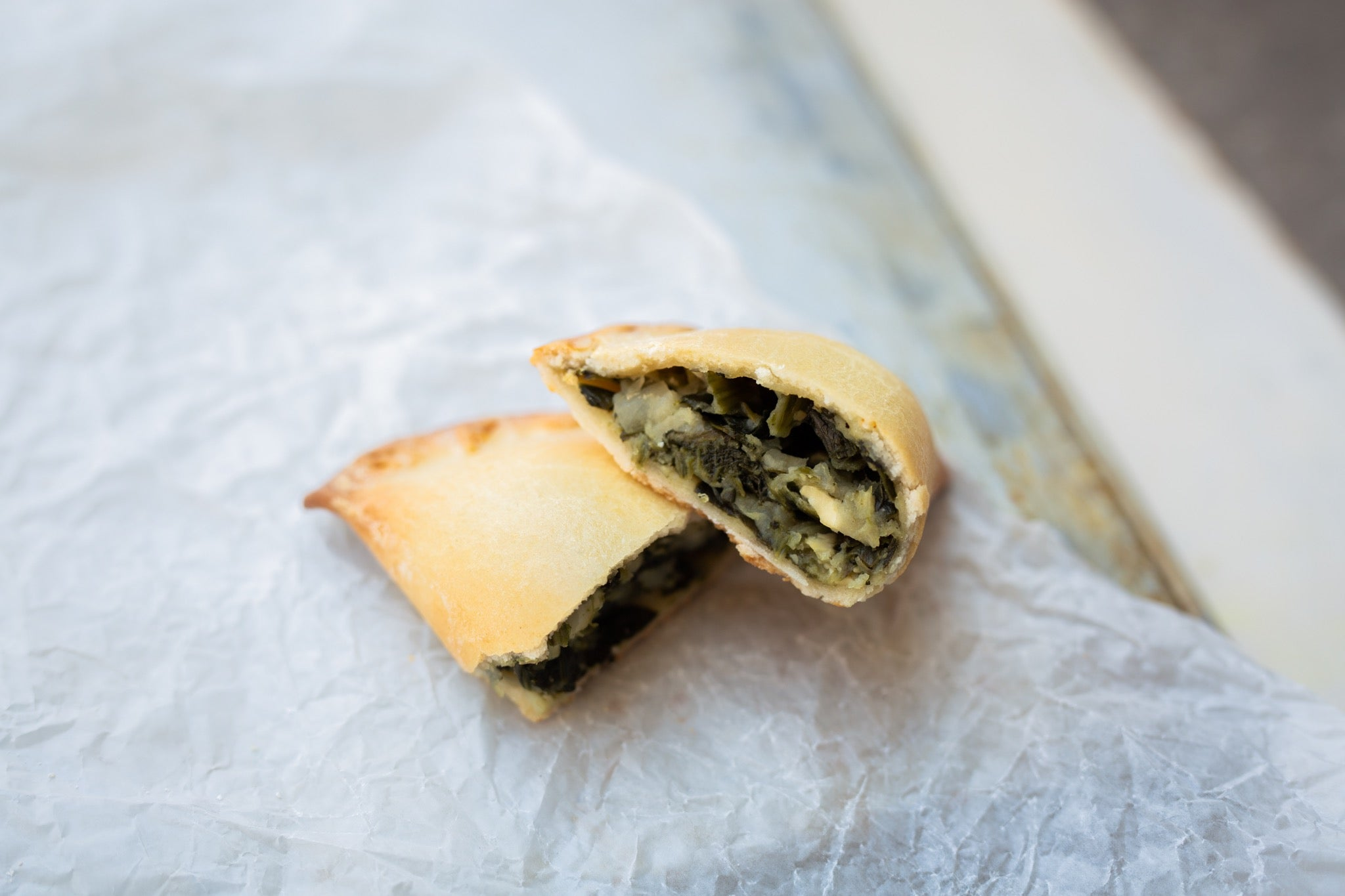 Mini Spinach  and Feta Cheese Empanadas