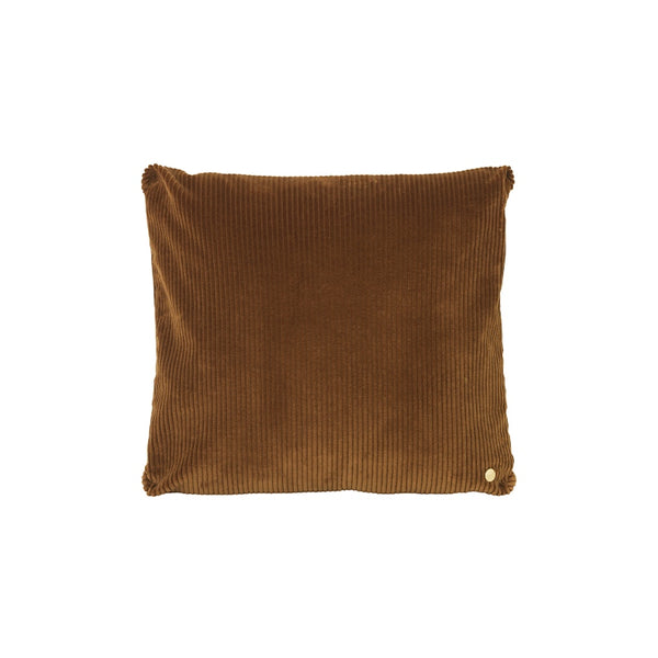 Ferm Living - Corduroy Cushion - Golden Olive