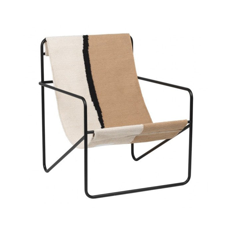 Desert Lounge Chair Black/Soil