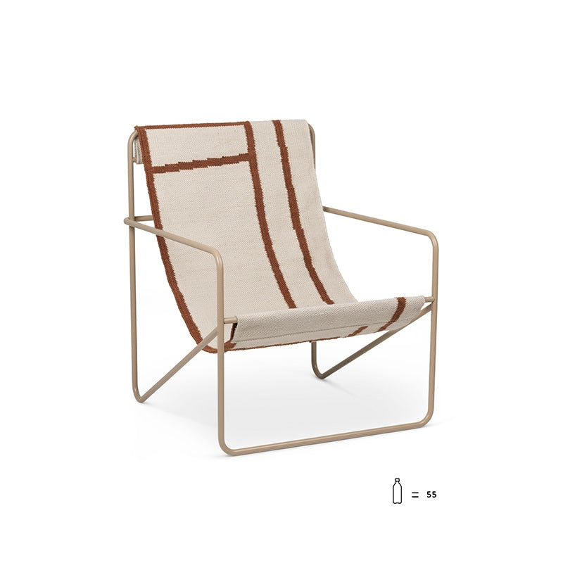 Desert Lounge Chair Cashmere/Shapes
