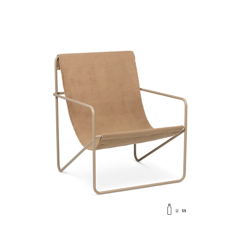 Desert Lounge Chair Cashmere/Solid cashmere