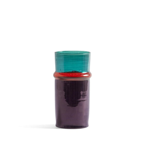 Moroccan vaas small - purper