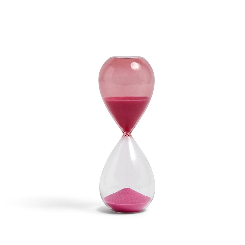 Time zandloper 15min roze