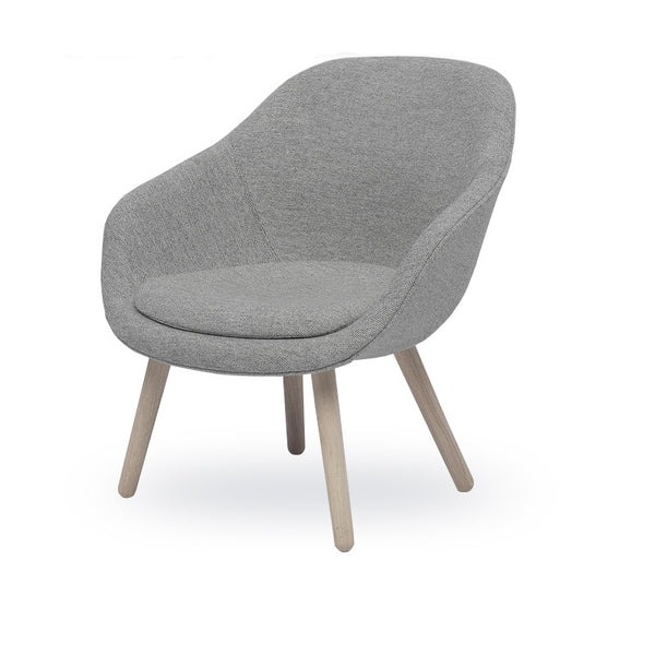 About A Lounge chair laag - AAL82 met zitkussen