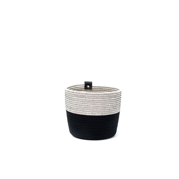 Koba planter M - Black/white