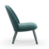 Ace Lounge Chair Velour lake blue