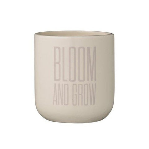 Bloom and grow bloempotje