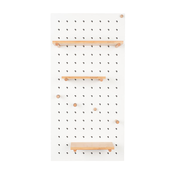 Bundy pegboard wandrek wit