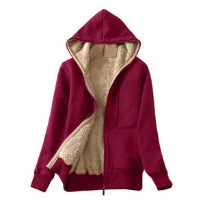 Hoodie Long Sleeves Winter Jacket