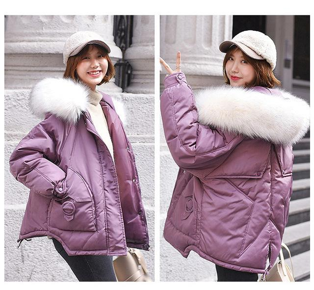 Loose Cotton Coat