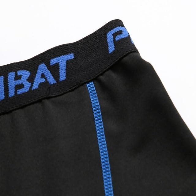 Men Fitness Elastic Shorts