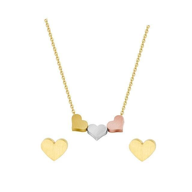 Heart Statment Necklace