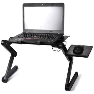 Portable Mobile Laptop Standing Desk