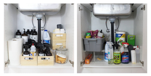 The Scariest thing in your House is Under the Kitchen Sink
