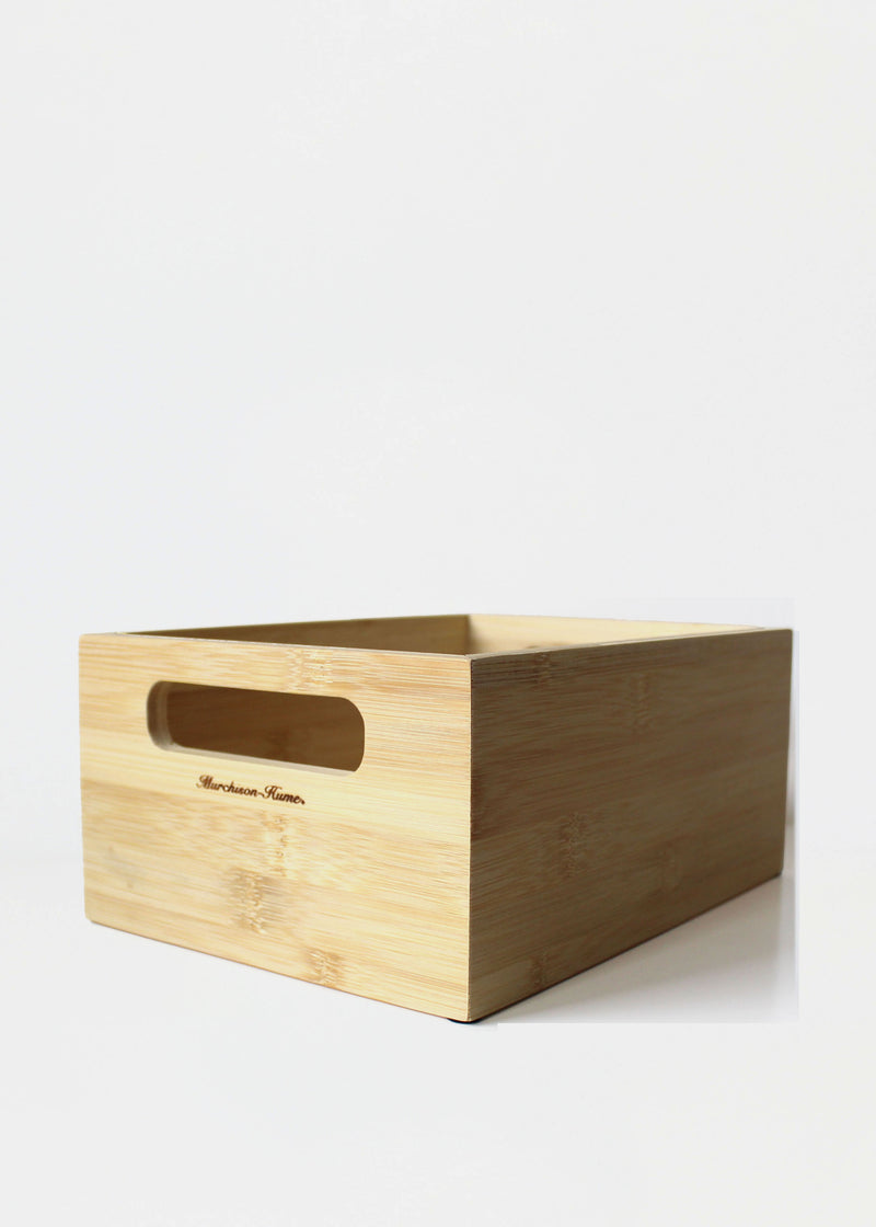 Bamboo Storage Caddy
