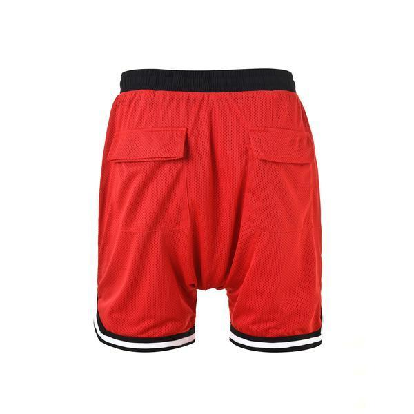 SPORTS MESH SHORTS - RED