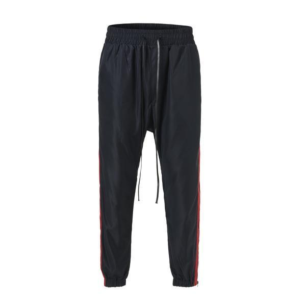 RETRO SPORTS PANTS - NAVY / RED