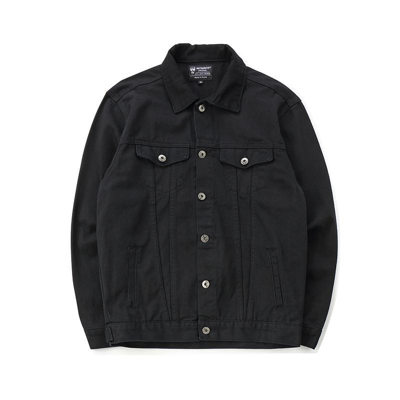 CHAINSAW BACK ZIPPER DENIM JACKET