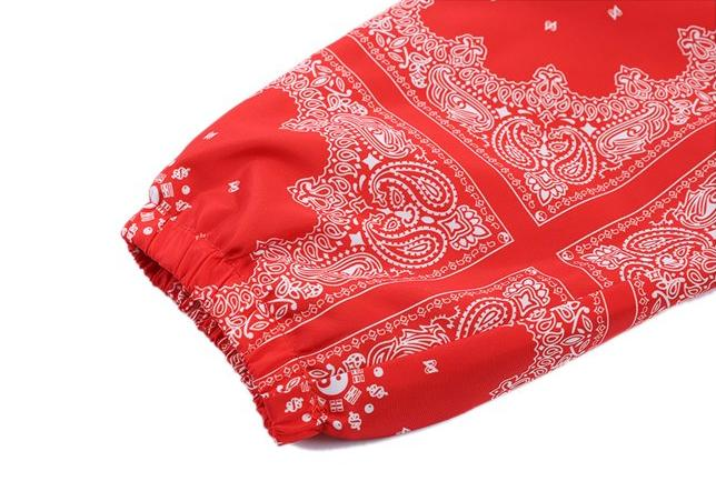 BANDANA JACKET - RED