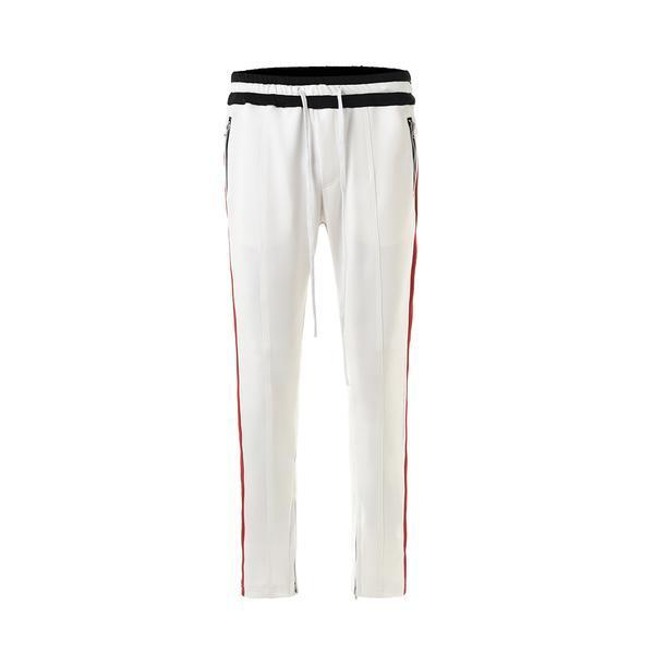 RETRO PANTS - WHITE / RED