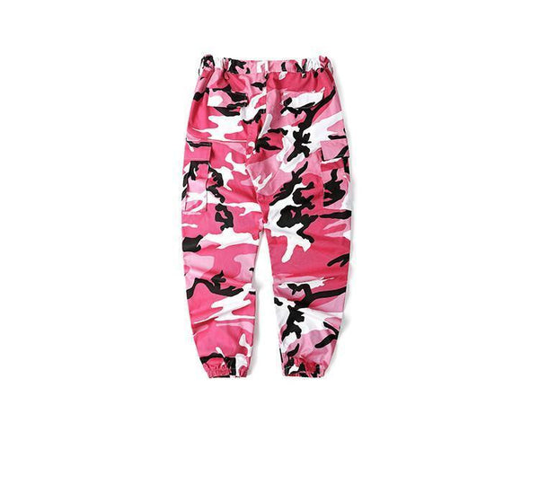ESSENTIAL CAMO PANTS - PINK