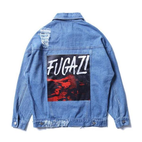 """FUGAZI"" DENIM JACKET"