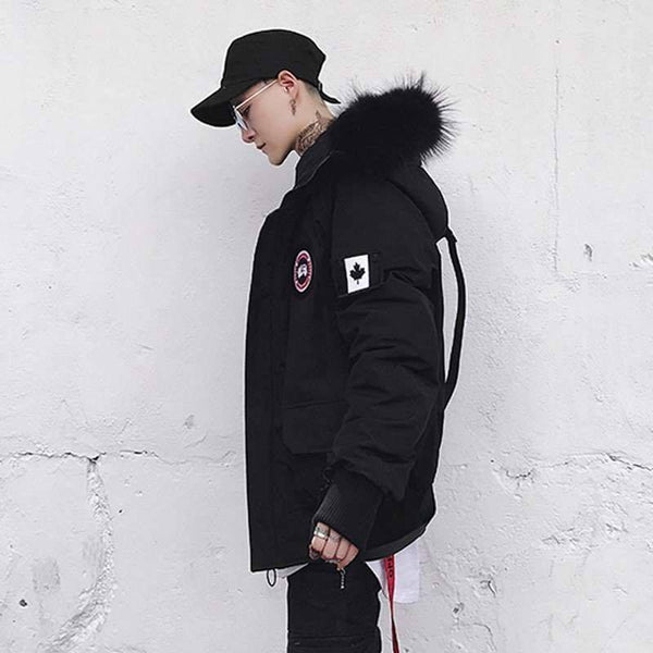 WARRIOR COAT - BLACK