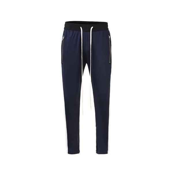 RETRO PANTS - NAVY / WHITE