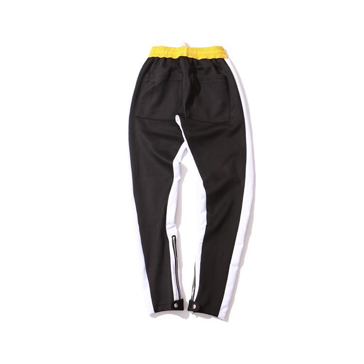 RETRO PANTS - PATCHWORK YELLOW