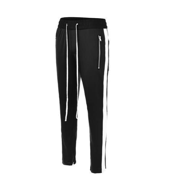 RETRO PANTS - BLACK / WHITE