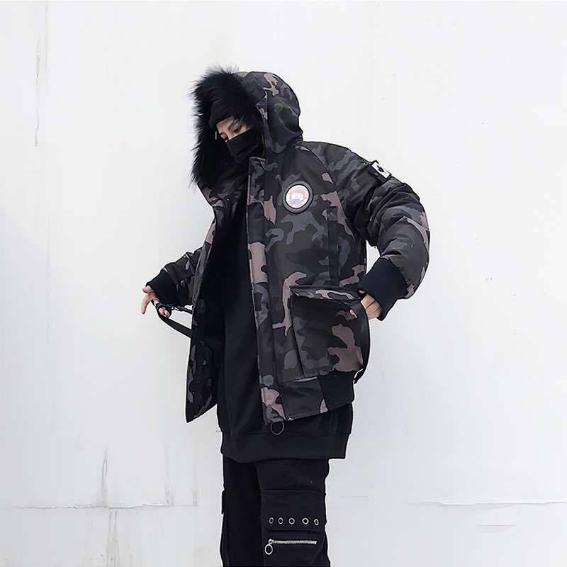 WARRIOR COAT - CAMO