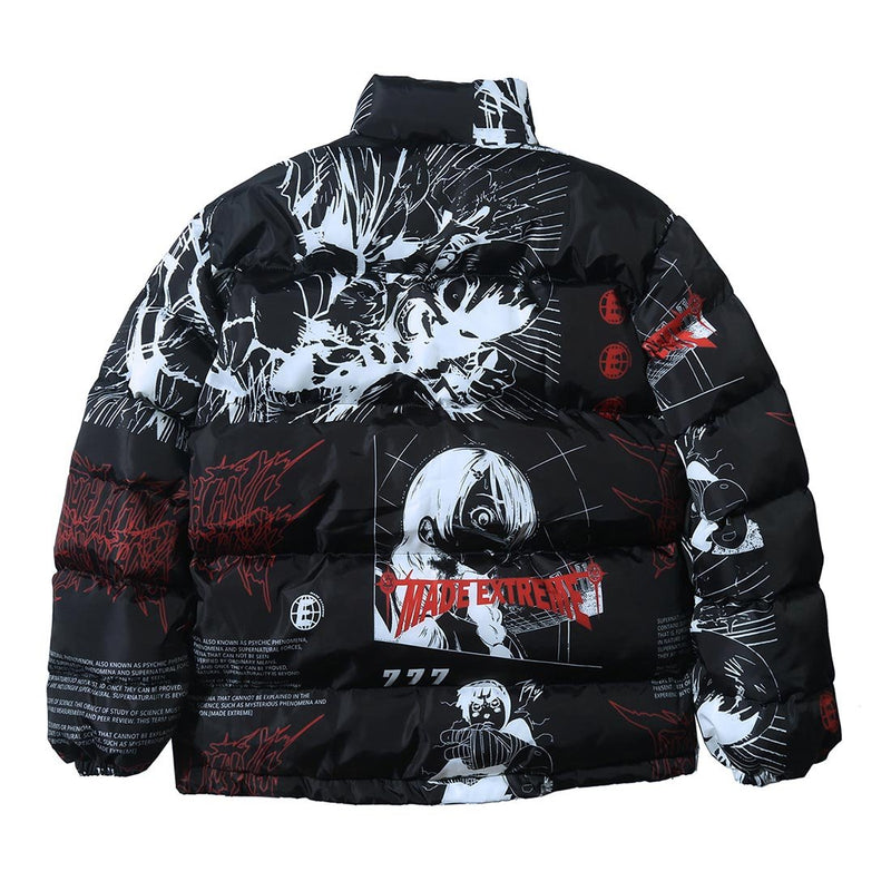 """ANIME"" DOWN JACKET"
