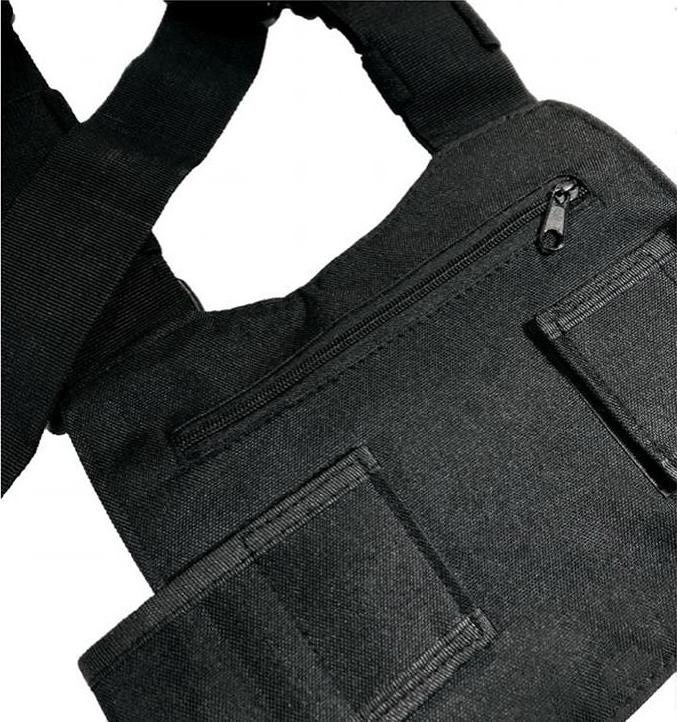 CHEST BAG - BLACK