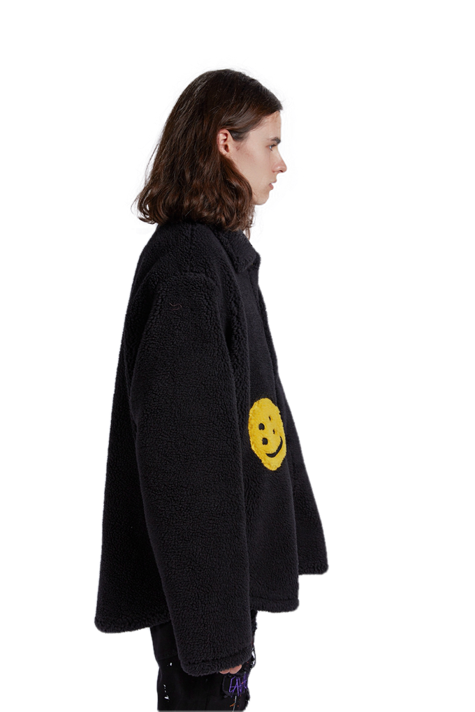 FLEECE SMILEY JACKET