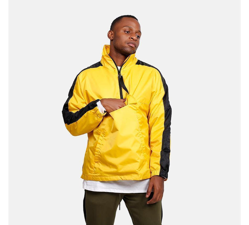 RETRO SPORTS JACKET - GOLD / BLACK
