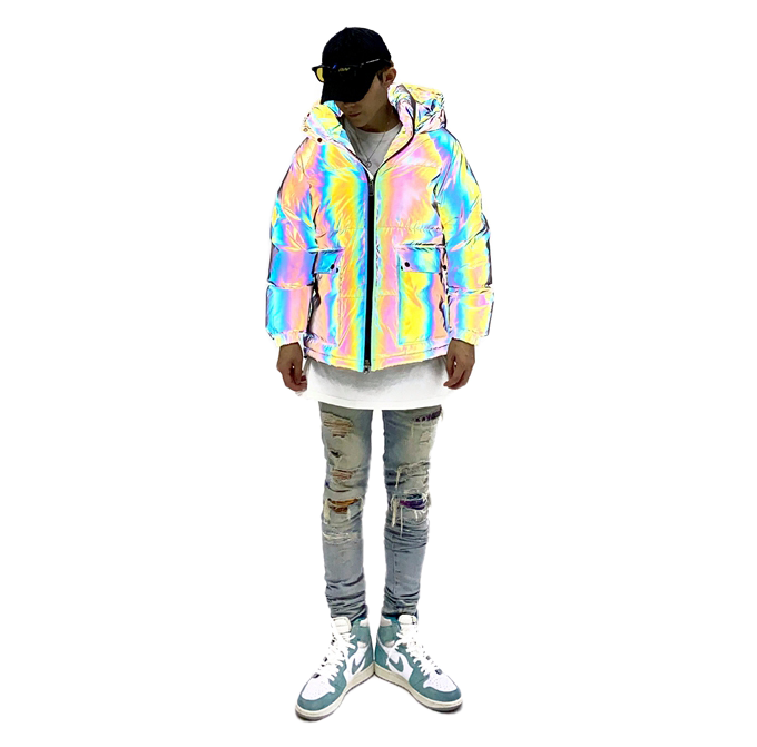 3M REFLECTIVE DOWN JACKET