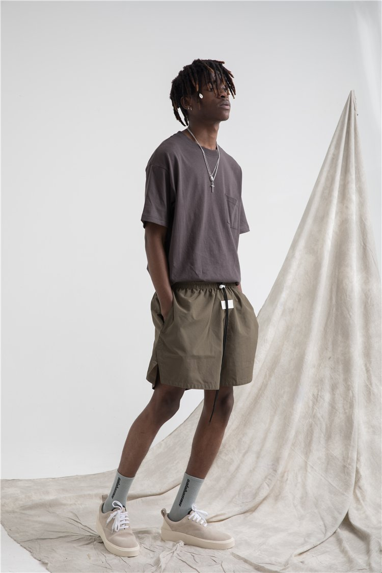 BOARD SHORTS - OLIVE GREEN