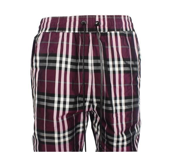 PLAID PANTS - PURPLE