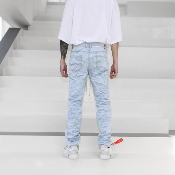 RETRO ICE WASHED DENIM