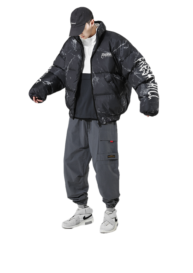 "MARBLE ""BEAR"" DOWN JACKET"